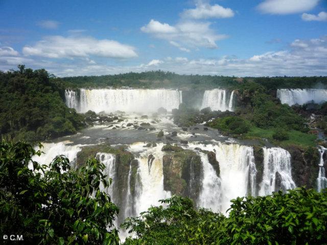 イグアスの滝とブエノスアイレス